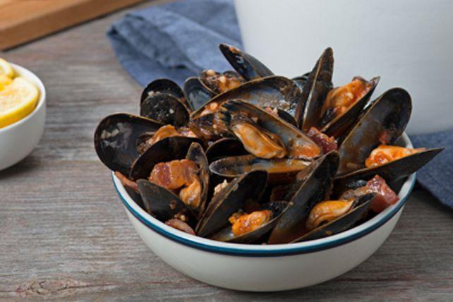 Moules Marinar Cette recette est inspirée de la région du Piémont, en Italie.
