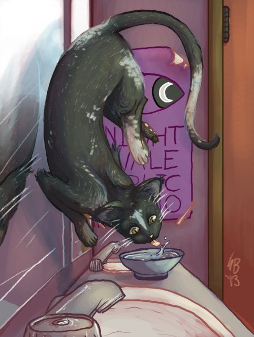 welcome to night vale he is holding a cat - Google Search