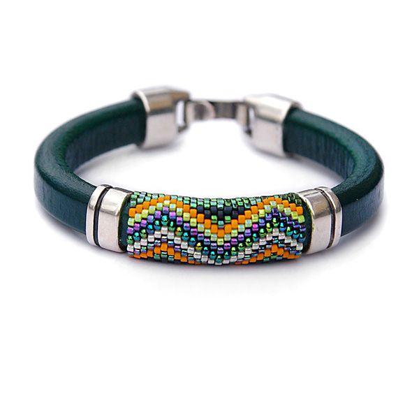 впечатляющий браслет,геометрический узор,блестящая - Браслеты - Ювелирные изделия