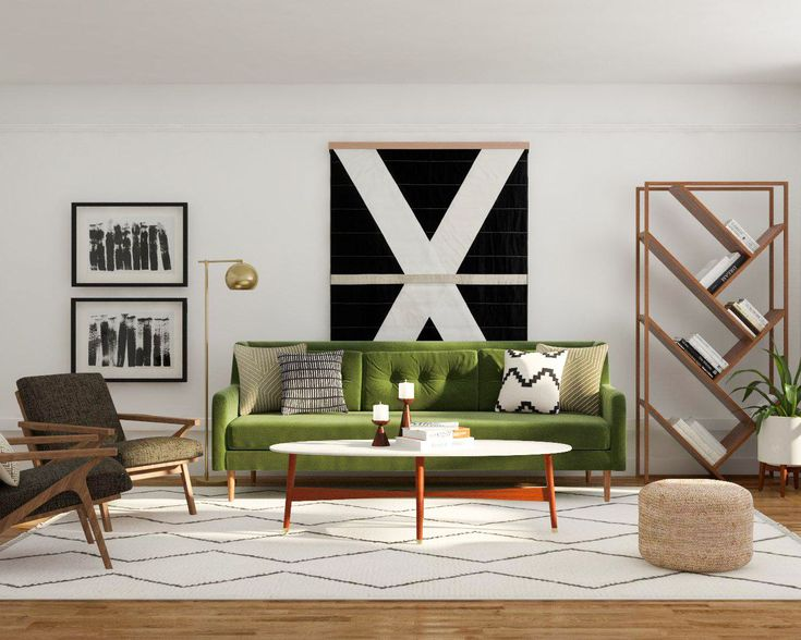 49 best mid century modern living room design ideas images - Mid century decorating ideas ...