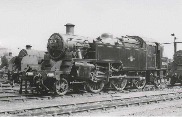 BR standard class 3  2-6-2 T