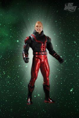 Guy Gardner, Red Lantern Action Figure by DC Direct.