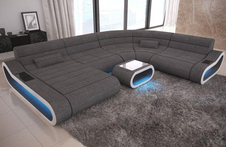 AuBergewohnlich Big Sofa Concept XXL Stoff Mix