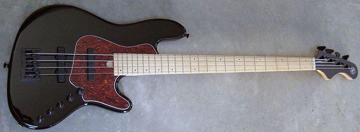 Elrick Expat Handmade New Jazz Standard 4-String Bass Guitar, Piano Black Finish, Maple Fingerboard | Shop | Elrick Bass Guitars