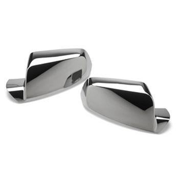 Add a stylish look to your Chevy Equinox or GMC Terrain with these chrome mirror covers. $56