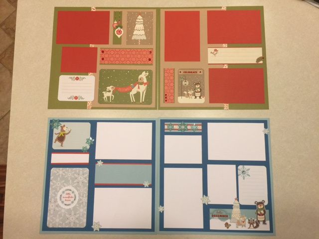 White Pines Scrapbook Pages