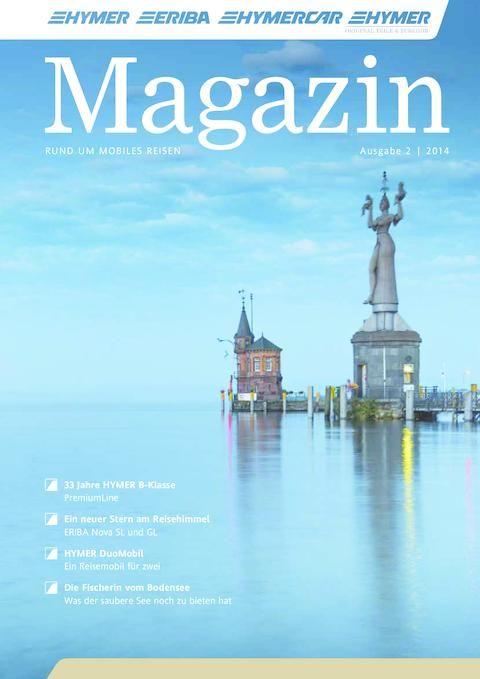HYMER-Magazin 02/2014