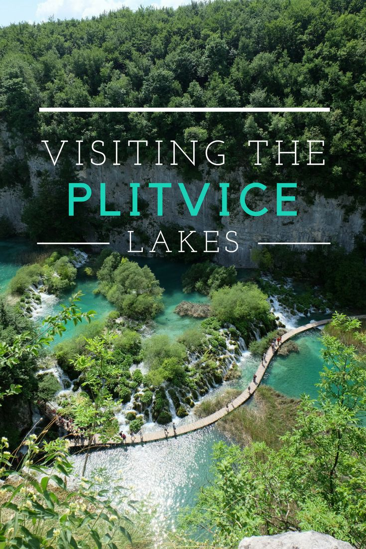 Tips for visiting the Plitvice Lakes in Croatia: how to get there, where to stay, the best route to take in the park to see the best waterfalls - and how to get this picture without a drone
