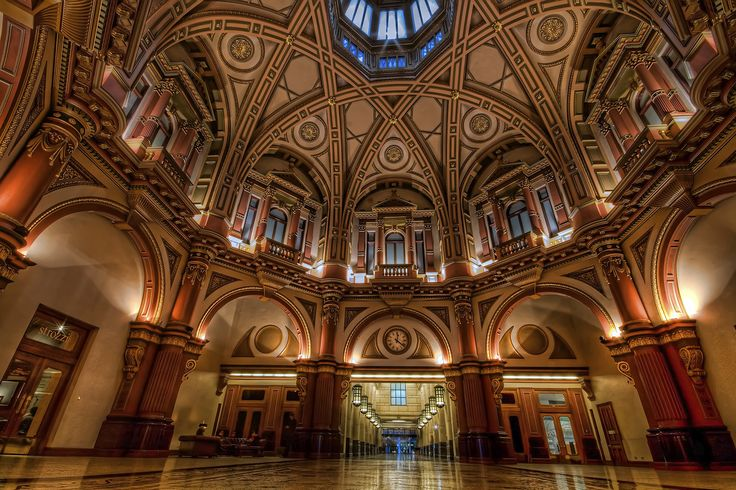 """""""The Dome"""" at 333 Collins Street, Melbourne is a beautiful location for a wedding ceremony"""