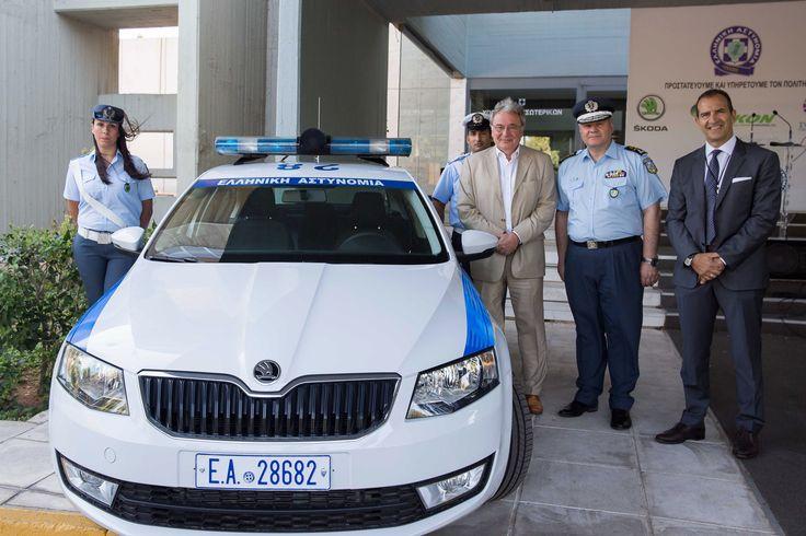 Περιπολικό φυσικού αερίου δώρισε η ΔΕΠΑ στην Ελληνική Αστυνομία 25/07/2017