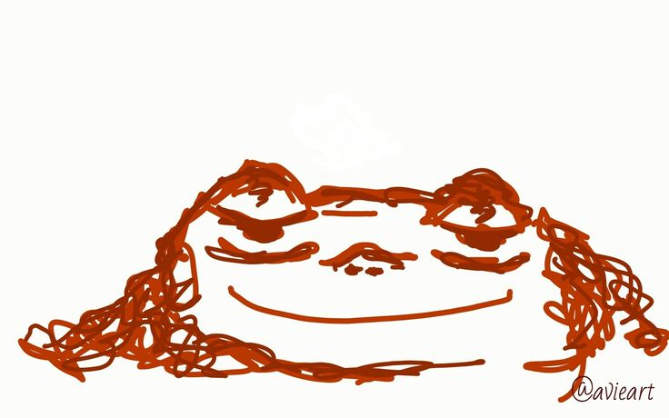Me and my love might be moving in together and this makes me happy Tried my hand at some digital feels . . . #art #artist #digital #sketch #doodle #drawing #rust #orange #red #follow #emotive #emotion #expressive #frog #happy #love #relationship #life #moving #scribble
