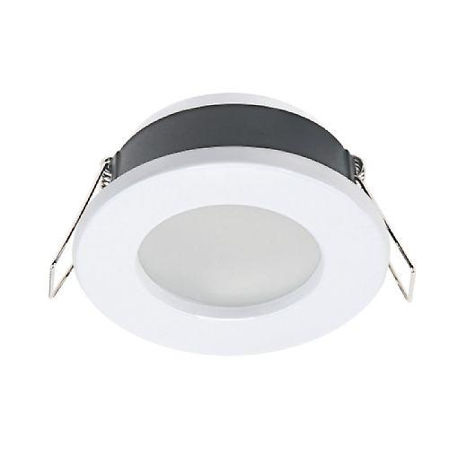 Leroy Merlin - Ghiera per faretto ad incasso fisso Inspire Lecco bianco Illuminazione da incasso per soffitto e parete