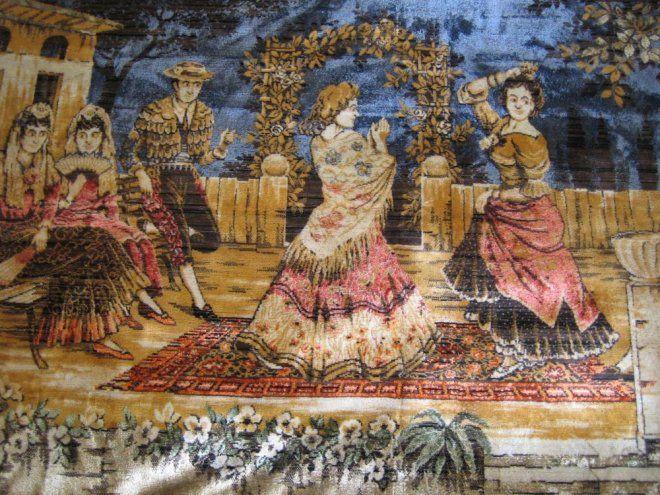 Kaunis Gobeliini seinävaate