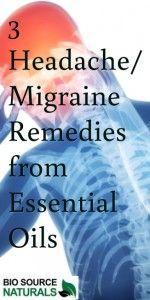 Natural Recipes for Headaches/Migraines from Essential Oils