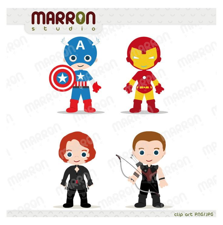 Superhero Inspired Set Avengers Kids Captain America Iron Man Black