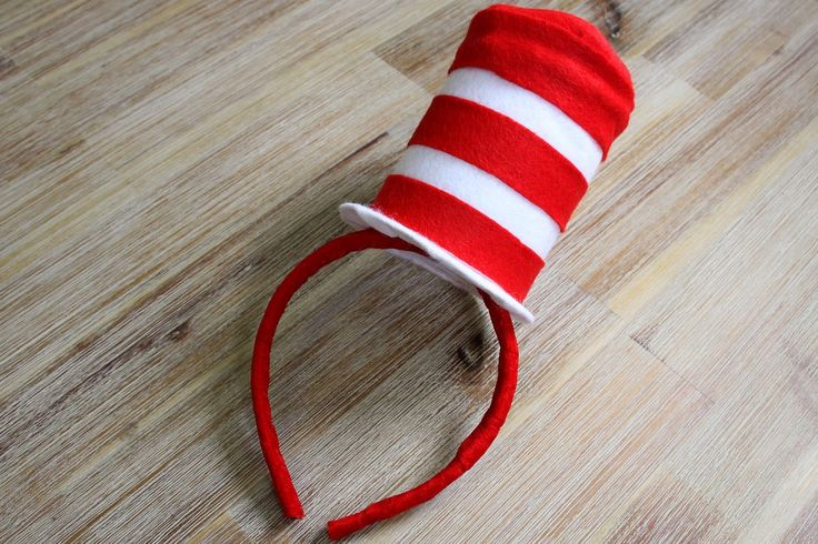 DIY Cat in the Hat Costume - Mini Top Hat