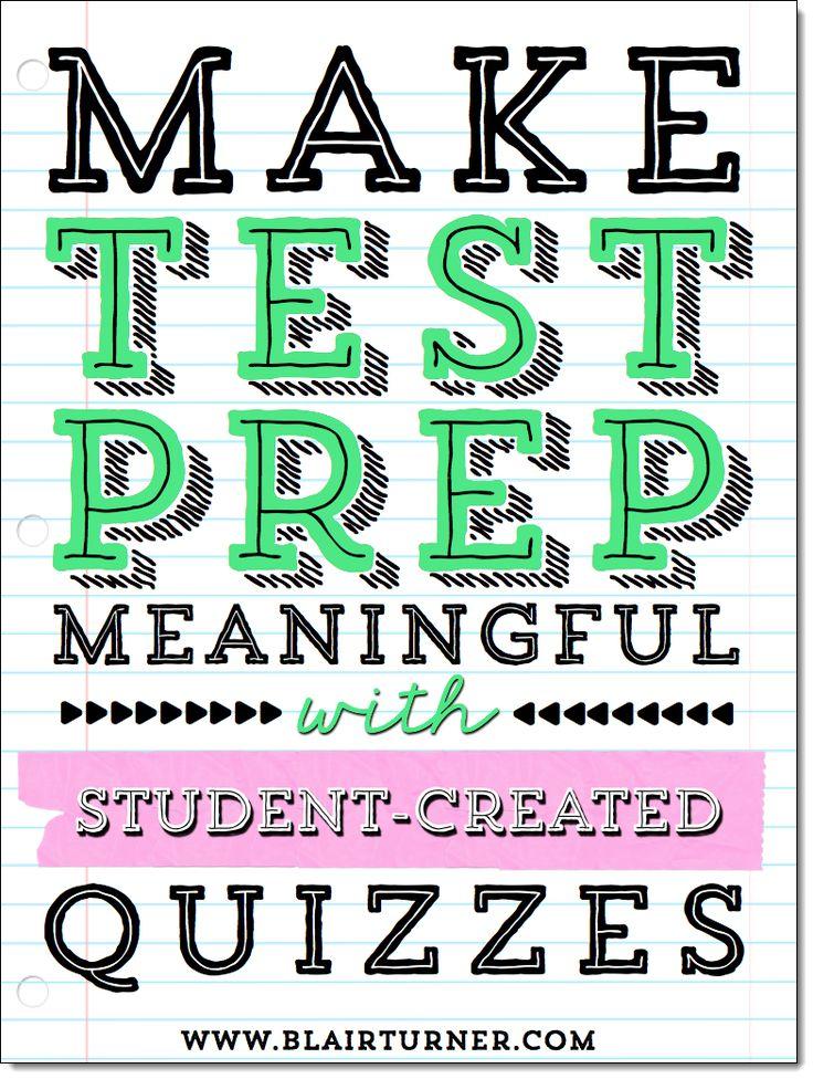 33 best assessment images on pinterest learning teaching ideas make test prep meaningful fandeluxe Images
