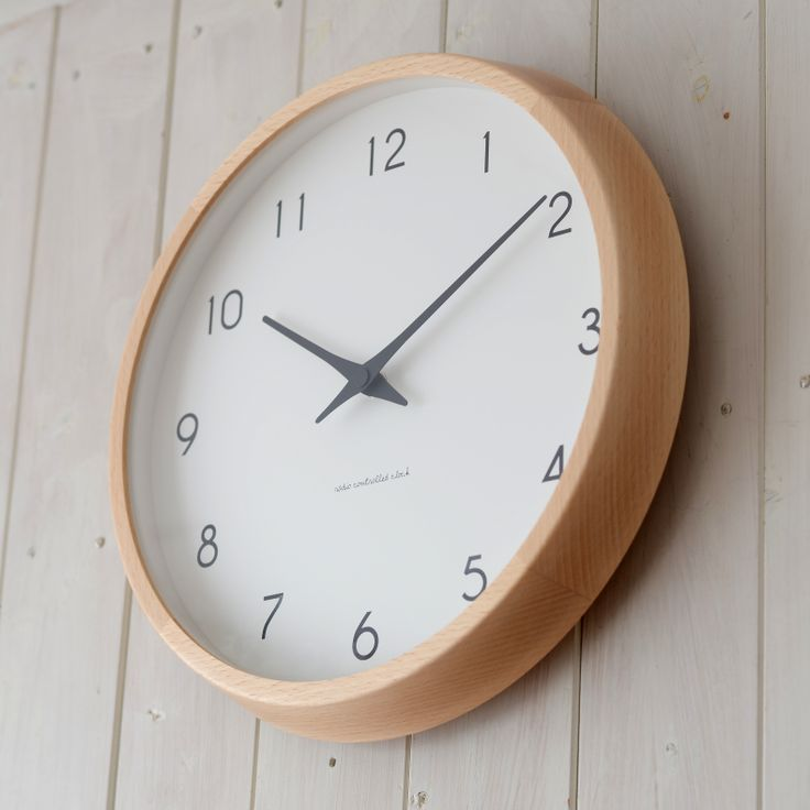 Campagne  radio contorolled clock - takata lemnos  カンパーニュ 掛け時計 / 電波時計  レムノス