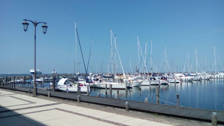 Ostsee Yachthafen Hohe Düne