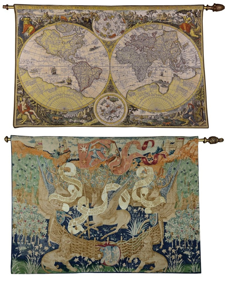Map Of Paisley%0A MODERN WORLD MAP  u     MIDIEVAL TAPESTRIES