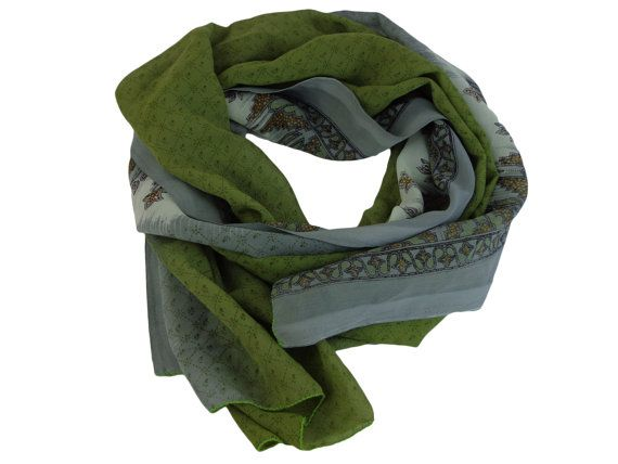 Green And Gray Coloured Scarf $19.99    Visit EpicMart.ca