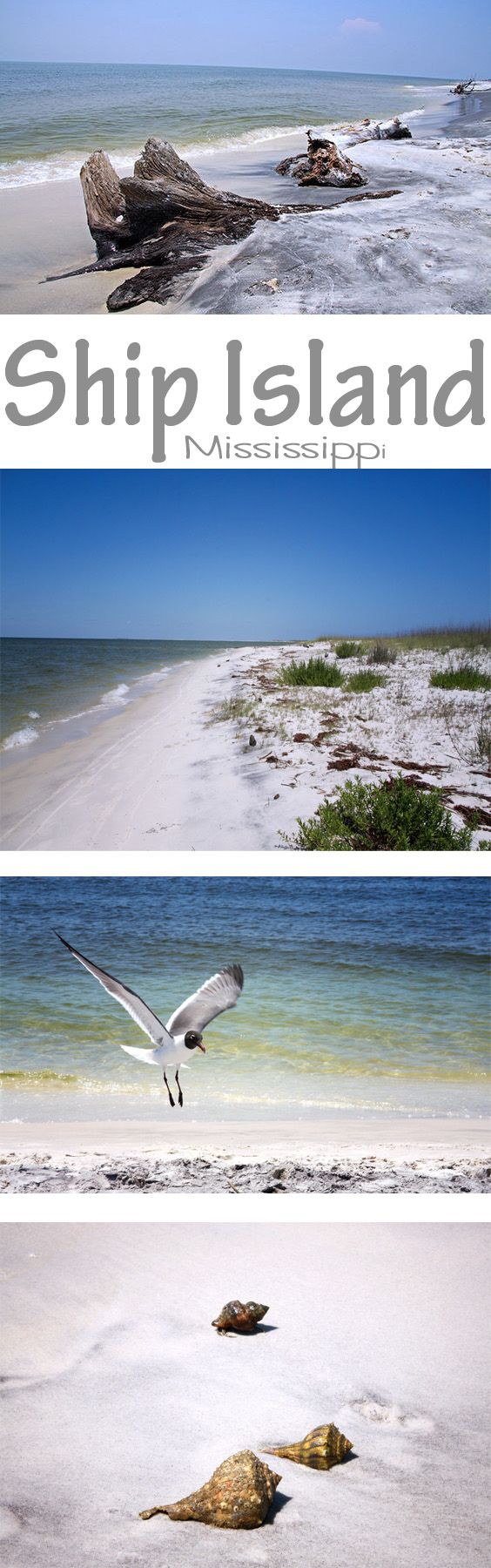 A beautiful Island in Mississippi - Ship Island - Gulf Coast -Gulfport