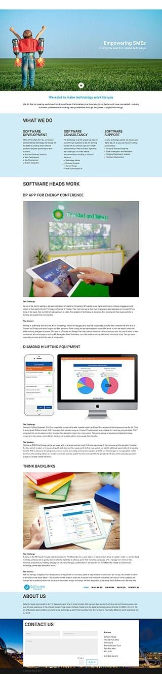 Softwareheads want a 1 website for their new software and app development business. #onepagewebsite #1pagewebsite #web #webdesign #webdesignnewcastle #divitheme #diviexpert #diviexperts #diviexpertuk #diviuk #newcastlewebdesign #webagencynewcastle #diviwebsitedesigner #websitedesignnewcastle #seonewcastle #diviseo #diviwebdesign #diviwebdesigner #diviwebdesignlayout #divibackup