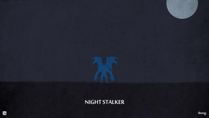 Dota 2 - Night Stalker Wallpaper by sheron1030.deviantart.com on @deviantART