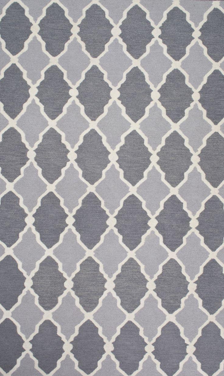 Amini Hand-Woven Gray Area Rug