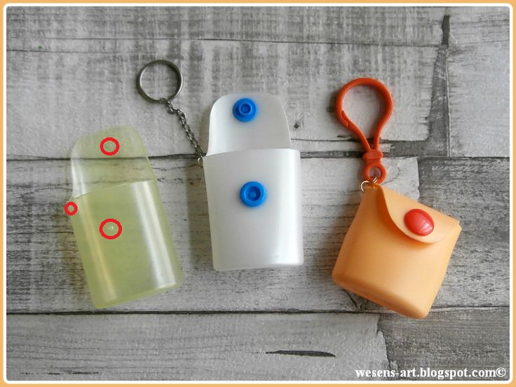 Don't throw away the empty small plastic bottles you used while travelling. Transform them into mini purses!     What you need:   small p...