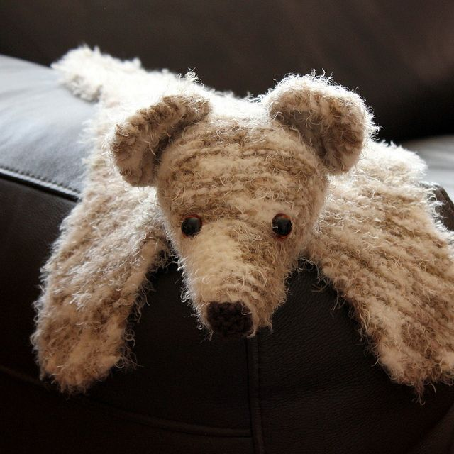 Ravelry: Fuzzy the Small Bearskin Rug pattern by sharon maher