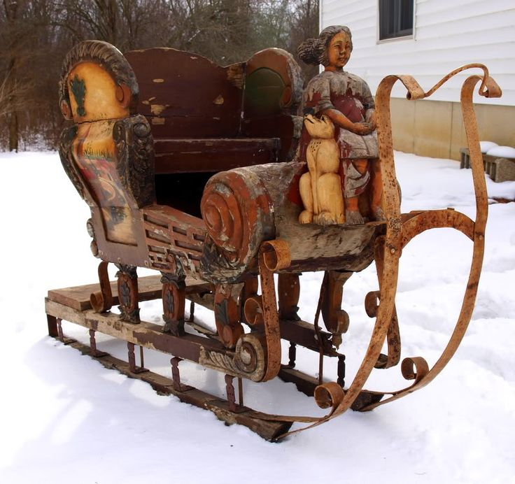 Free Wooden Santa Sleigh Plans - WoodWorking Projects & Plans
