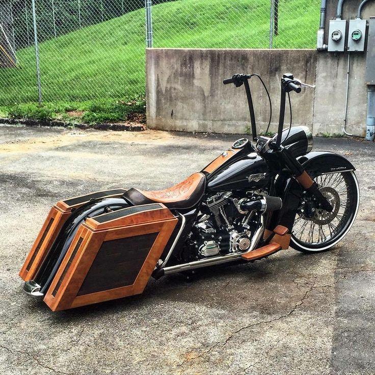 Nice custom Harley Davidson