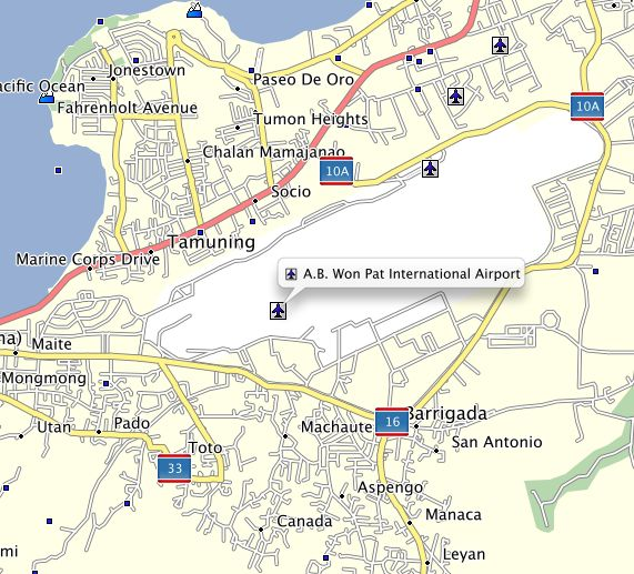 Avis Rent A Car Individual Airport Map: 17 Best Images About Guam Garmin Map GPS On Pinterest