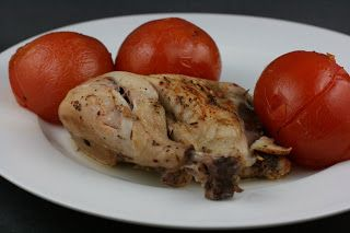 A Year of Slow Cooking: Herb Roasted Chicken with Summer Tomatoes Slow Cooker Recipe