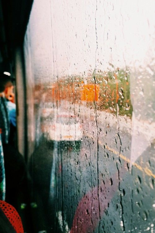 The rain is so soothing