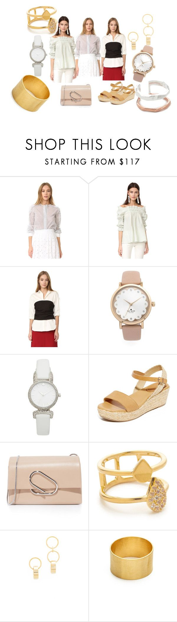 """new trends"" by monica022 ❤ liked on Polyvore featuring Amelia Toro, Hellessy, Kate Spade, Matt Bernson, 3.1 Phillip Lim, Elizabeth and James, Amber Sceats, Maya Magal and vintage"