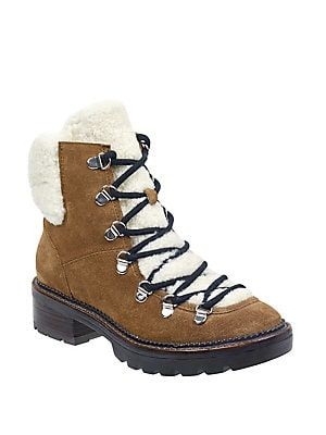 41d6d3ef452 Marc Fisher Capell Shearling Lace-Up Hiker Boot | Christmas list 18 ...