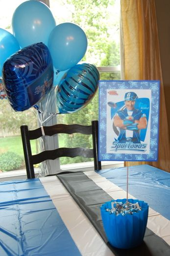 Gavin's 5th Birthday: Welcome to Lazytown! | CatchMyParty.com