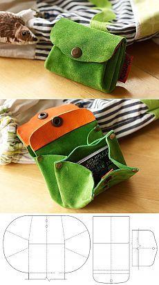 Выкройка сумки-кошелька / Мастер-класс