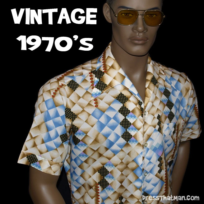mens vintage 1970s shirts mens casual apparel pinterest