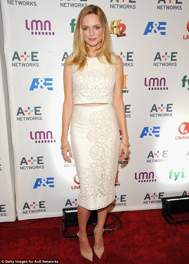 Heather Graham + skirt