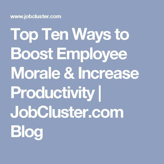 best 25  employee morale ideas on pinterest