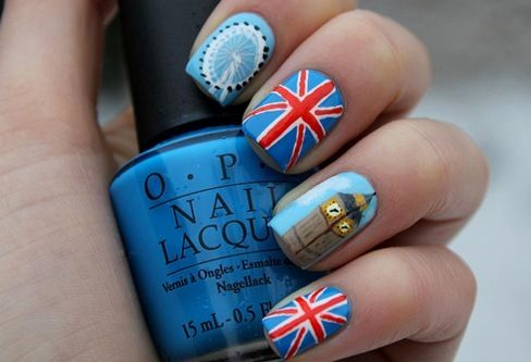 Olympic nails :)
