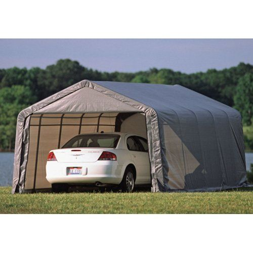 Have to have it. ShelterLogic 12 x 20 x 10 Instant Garage Heavy Duty Canopy Carport $859.98