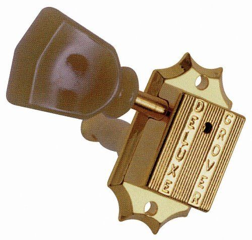 Grover 135G Vintage 3 per Side Machine Head, Gold by Grover. $56.06. Save 29%!