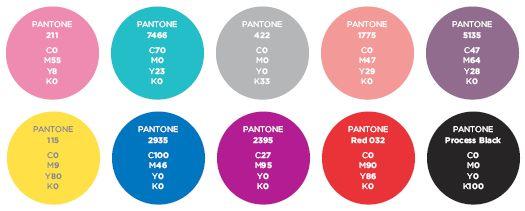 Basic 80 S Colour Palette Retro Electro Sideshow 1980s
