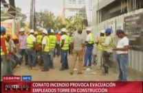 Conato Incendio Provoca Evacuación Empleados Torre En Construcción #Video