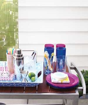 Throwing an Easy, Outdoor Cocktail Party. Create an al fresco lounge right in your own backyard.