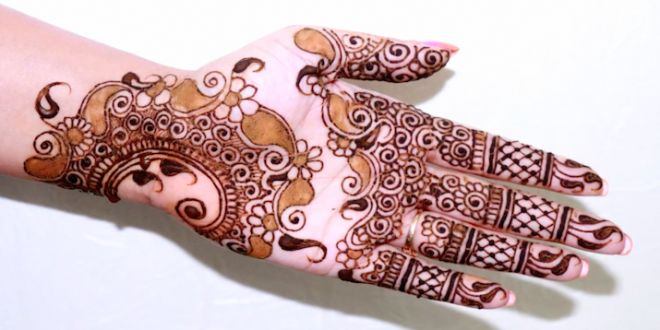 Easy Arabic Mehndi Designs For Hands Step By Step Easy